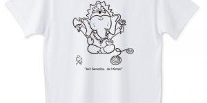 Jai ! Ganesha. Jai ! Kirtan Tシャツ